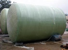 回收卧式玻璃钢罐