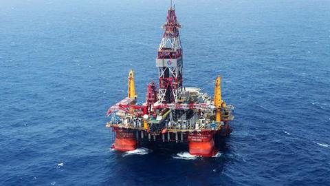 我国首口超深水探井南海测试成功